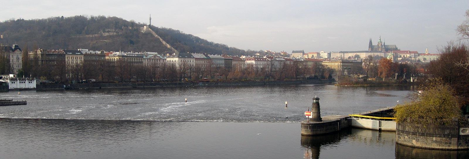 Miljöbild av Prag